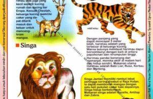 Ebook Legal dan Printable Aku Anak Cerdas Dunia Hewan 1, Keluarga Kucing (14)