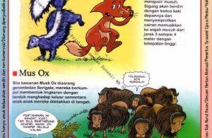Ebook Legal dan Printable Aku Anak Cerdas Dunia Hewan 1, Sigung dan Mus Ox (13)