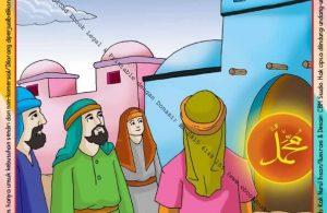 Ebook Legal dan Printable Menulis Huruf Tegak Bersambung Kisah Nabi Muhammad 4 (28)