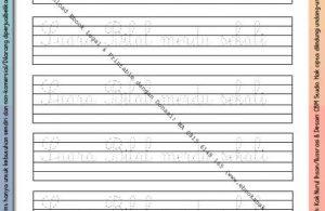 Ebook Legal dan Printable Menulis Huruf Tegak Bersambung Kisah Nabi Muhammad 4 (29)
