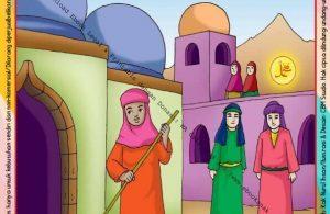 Ebook Legal dan Printable Menulis Huruf Tegak Bersambung Kisah Nabi Muhammad 4 (34)