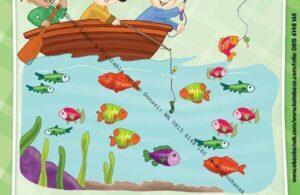 Ebook PDF 10 Menit Pintar Membaca, Menulis, dan Menghitung, Mencari Ikan Hias (62)