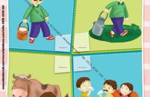 Ebook PDF 10 Menit Pintar Membaca, Menulis, dan Menghitung, Mengurutkan Gambar (58)