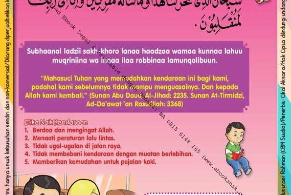 Ebook PDF 101 Doa Anak Saleh, Doa Naik Kendaraan Darat (28)