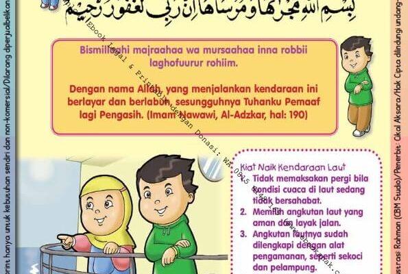 Ebook PDF 101 Doa Anak Saleh, Doa Naik Kendaraan di Laut (29)