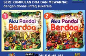 Ebook PDF 2 Buku Seri Kumpulan Doa dan Mewarnai Aku Pandai Berdoa