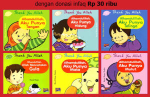 Ebook PDF 6 Buku Seri Thank You Allah