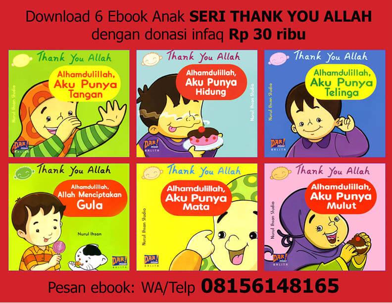 Ebook PDF 6 Buku Seri Thank You Allah