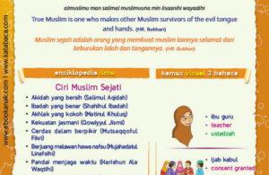 Ebook PDF 77 Pesan Nabi untuk Anak Muslim, Hadis Bahaya Keburukan Lidah dan Tangan (52)