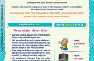 Ebook PDF 77 Pesan Nabi untuk Anak Muslim, Hadis Lelaki yang Dibenci Allah (66)