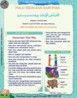 Ebook PDF 77 Pesan Nabi untuk Anak Muslim, Hadis Malu Sebagian dari Iman (36)