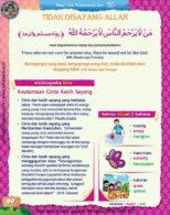 Ebook PDF 77 Pesan Nabi untuk Anak Muslim, Hadis Tidak Disayang Allah (76)