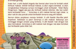 Ebook PDF 77 Pesan Nabi untuk Anak Muslim, Kisah Hadis Terpilih, Ahli Ibadah dan Ahli Maksiat (65)