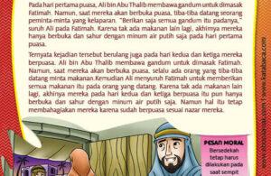 Ebook PDF 77 Pesan Nabi untuk Anak Muslim, Kisah Hadis Terpilih, Berpuasa dalam Kekurangan (69)