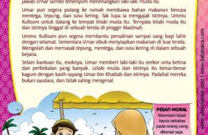 Ebook PDF 77 Pesan Nabi untuk Anak Muslim, Kisah Hadis Terpilih, Kisah Umar bin Khattab (77)
