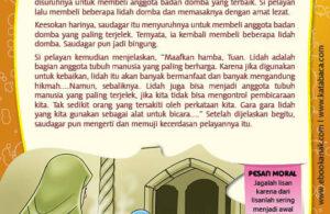 Ebook PDF 77 Pesan Nabi untuk Anak Muslim, Kisah Hadis Terpilih, Masakan Lidah Domba (53)