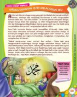 Ebook PDF 77 Pesan Nabi untuk Anak Muslim, Kisah Hadis Terpilih, Mengutamakan Istri Melalaikan Ibu (63)