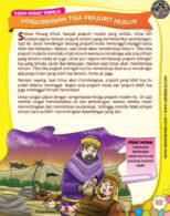 Ebook PDF 77 Pesan Nabi untuk Anak Muslim, Kisah Hadis Terpilih, Pengorbanan Tiga Prajurit Muslim (59)