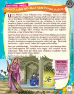 Ebook PDF 77 Pesan Nabi untuk Anak Muslim, Kisah Hadis Terpilih, Wanita yang Menjaga Kebersihan Masjid (31)