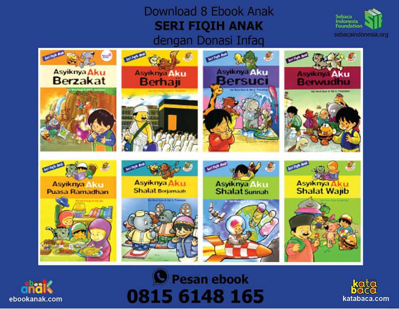 Ebook PDF 8 Buku Seri Seri Fiqih Anak