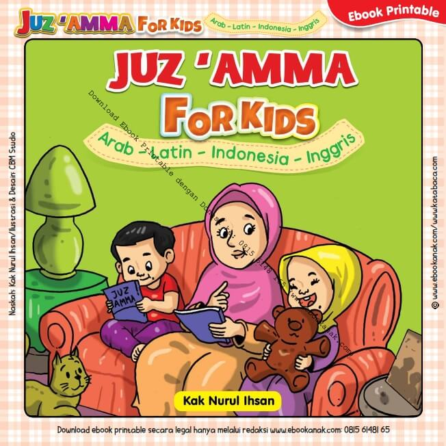 Ebook Printable Juz Amma for Kids Jilid 1_001