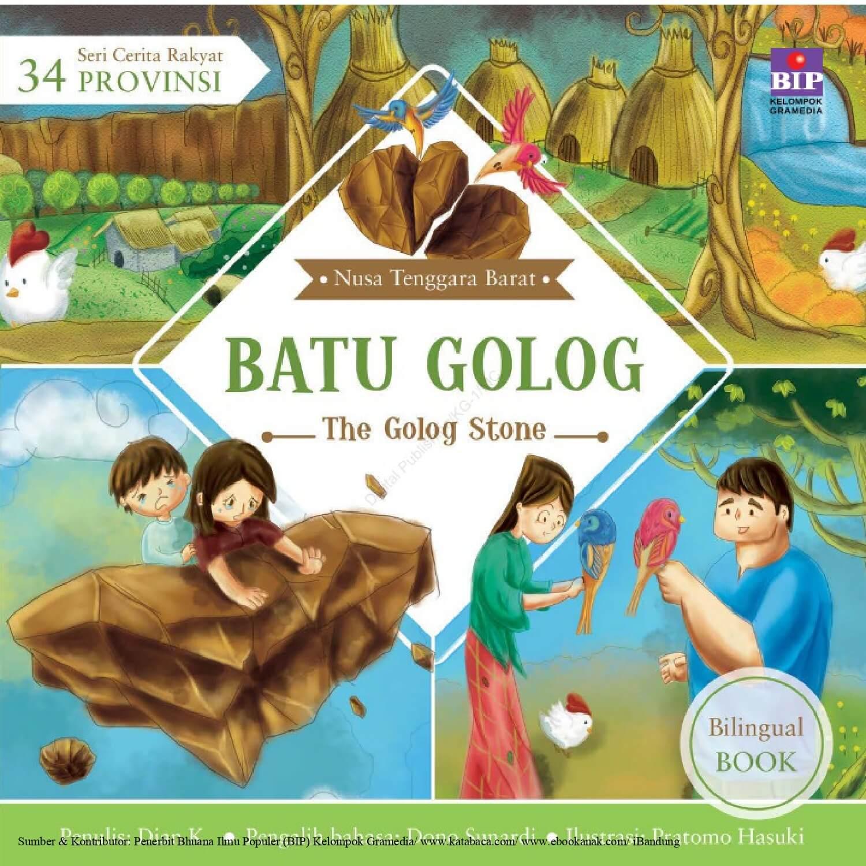 Ebook Seri Cerita Rakyat 34 Provinsi, Batu Golog