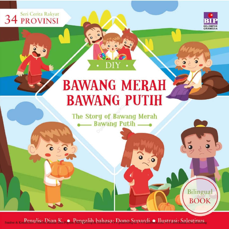 Ebook Seri Cerita Rakyat 34 Provinsi, Bawang Merah Bawang Putih