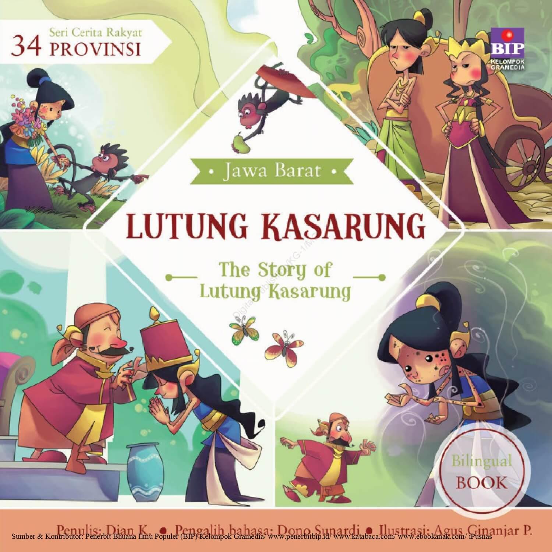Ebook Seri Cerita Rakyat 34 Provinsi, Lutung Kasarung