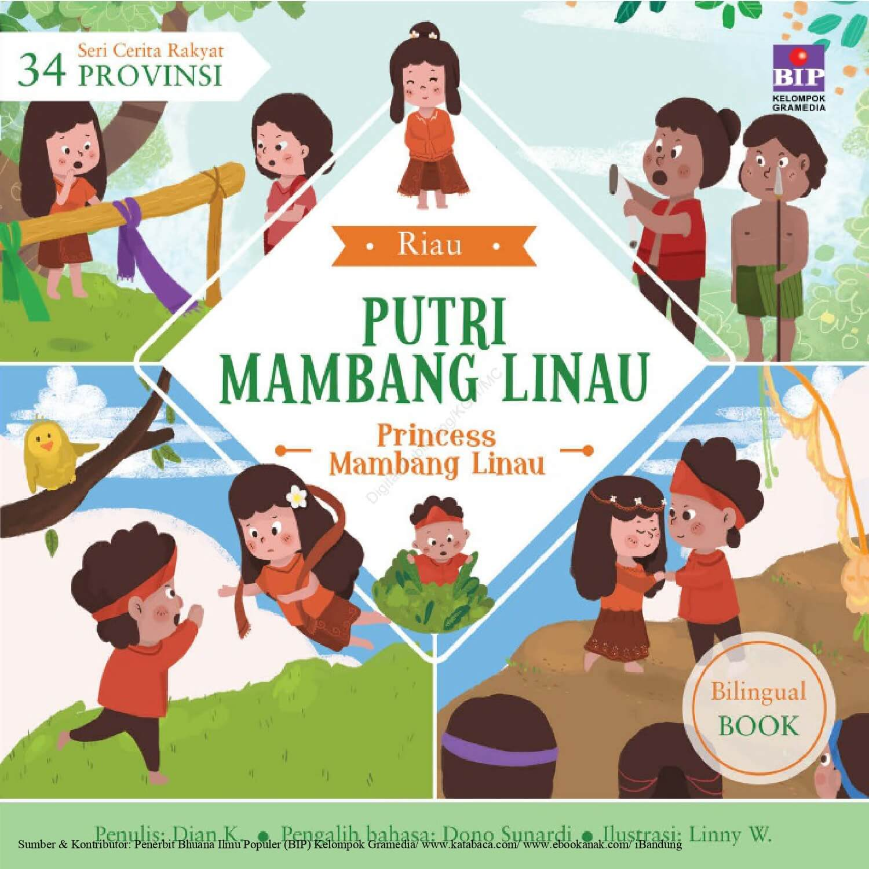 Ebook Seri Cerita Rakyat 34 Provinsi, Putri Mambang Linau