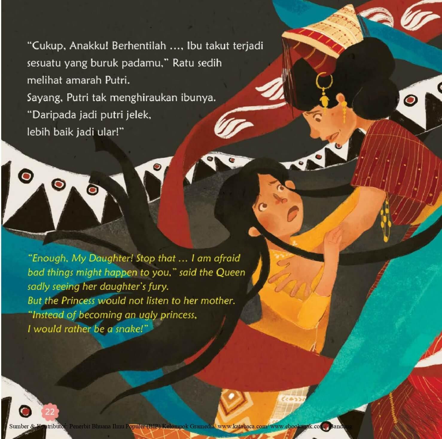 Ebook Seri Cerita Rakyat 34 Provinsi, Putri Ular (Sumatra Utara) (23)