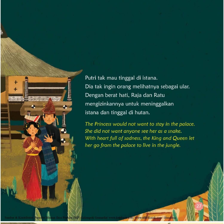 Ebook Seri Cerita Rakyat 34 Provinsi, Putri Ular (Sumatra Utara) (28)