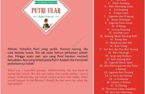 Ebook Seri Cerita Rakyat 34 Provinsi, Putri Ular (Sumatra Utara) (34)