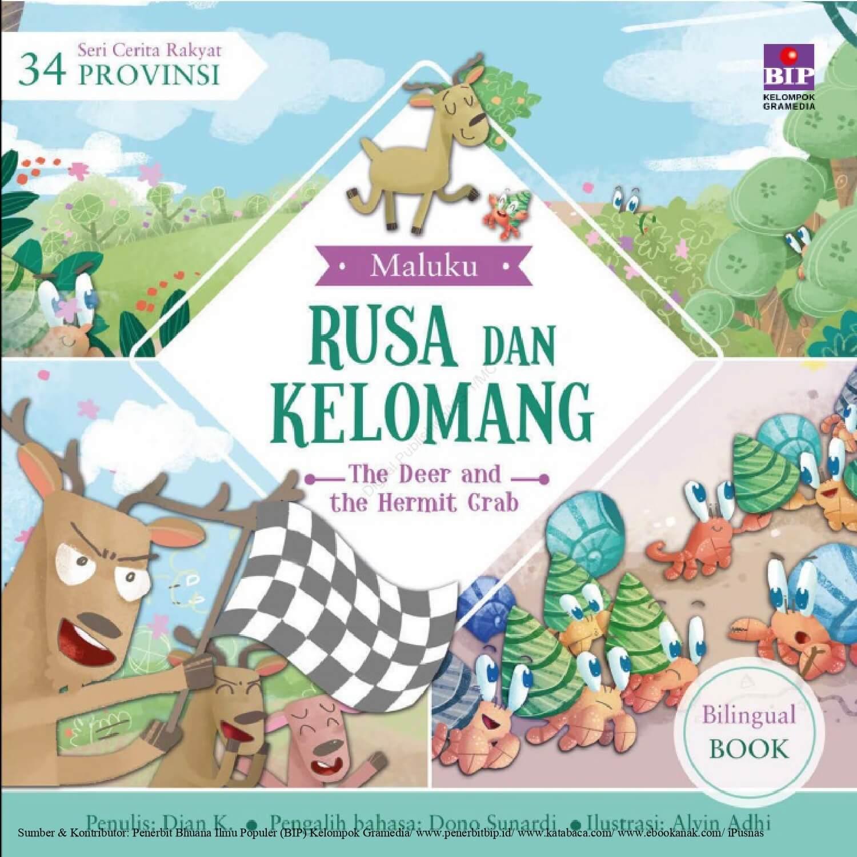 Ebook Seri Cerita Rakyat 34 Provinsi, Rusa dan Kelomang