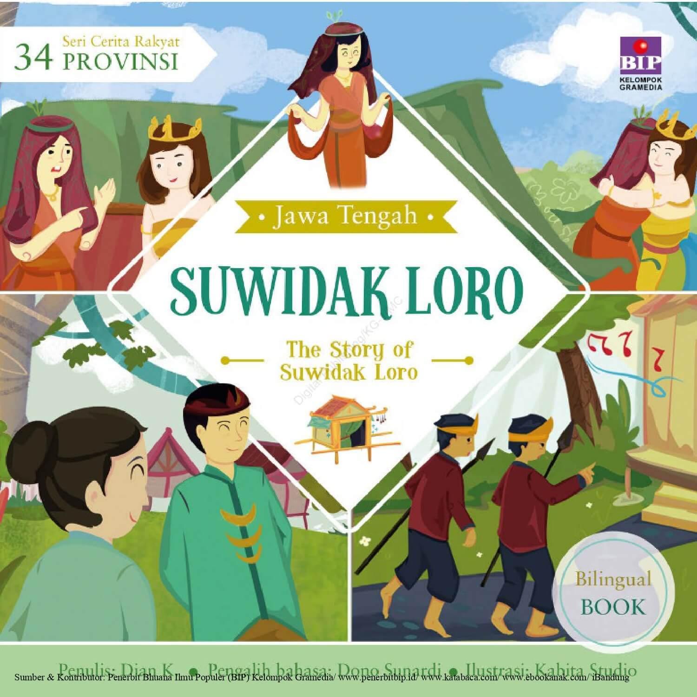 Ebook Seri Cerita Rakyat 34 Provinsi, Suwidak Loro