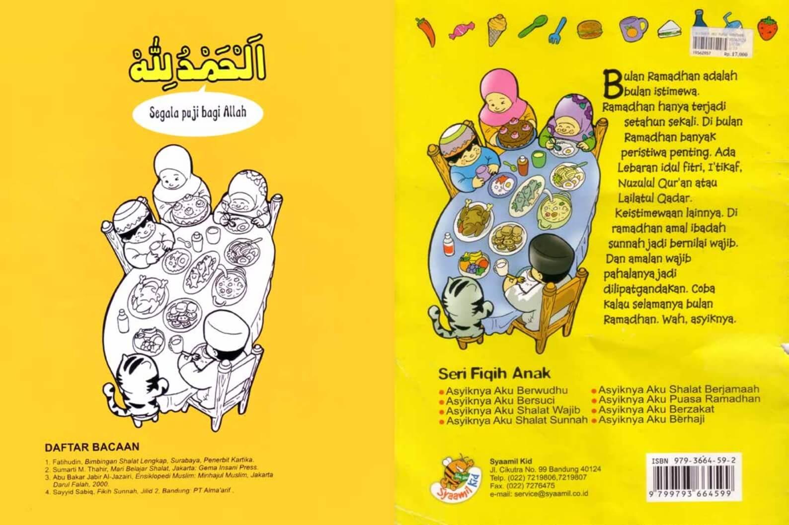Ebook Seri Fikih Anak, Asyiknya Aku Puasa Ramadhan (13)