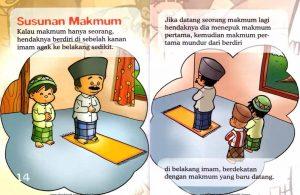 Ebook Seri Fiqih Anak, Asyiknya Aku Shalat Berjamaah, Susunan Makmum (9)