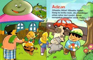 Ebook Seri Fiqih Anak, Asyiknya Aku Shalat Wajib, Adzan (3)