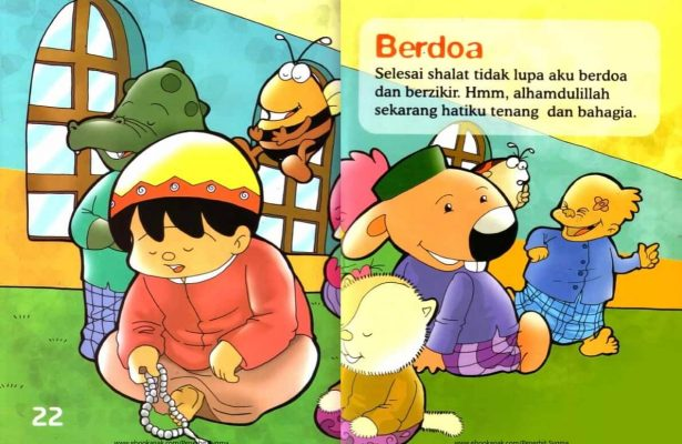 Ebook Seri Fiqih Anak, Asyiknya Aku Shalat Wajib, Berdoa (13)