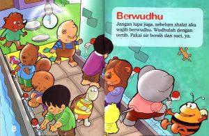 Ebook Seri Fiqih Anak, Asyiknya Aku Shalat Wajib, Berwudhu (6)