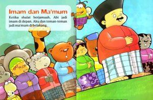 Ebook Seri Fiqih Anak, Asyiknya Aku Shalat Wajib, Imam dan Mamum (12)