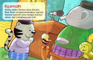 Ebook Seri Fiqih Anak, Asyiknya Aku Shalat Wajib, Iqamah (10)