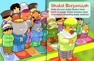 Ebook Seri Fiqih Anak, Asyiknya Aku Shalat Wajib, Shalat Berjamaah(11)