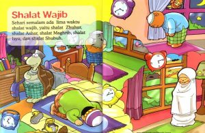 Ebook Seri Fiqih Anak, Asyiknya Aku Shalat Wajib, Shalat Wajib (4)