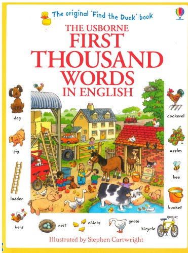 Ebook The Usborne First Thousand Words in English