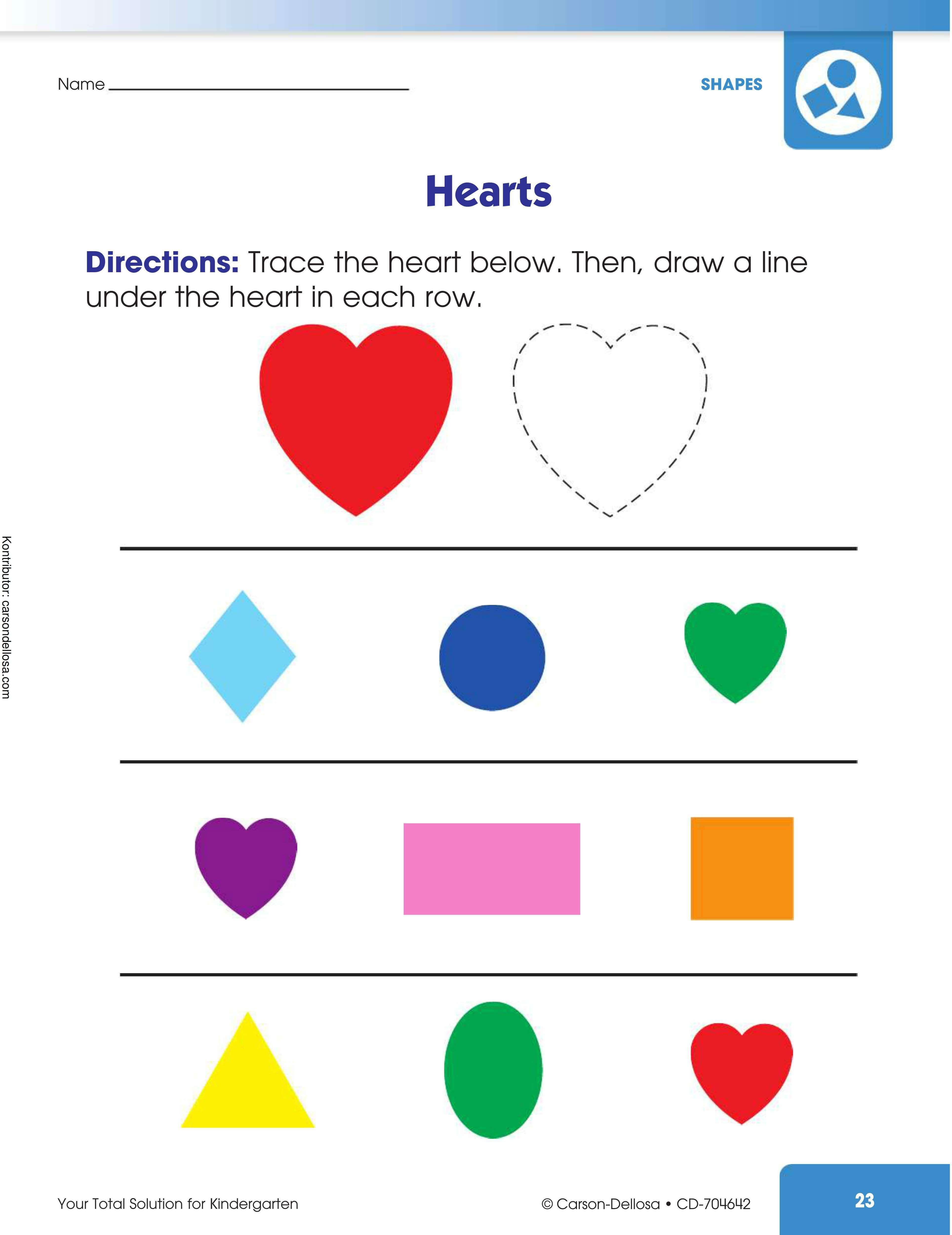 Belajar Mengenal dan Menggambar Jantung Hati