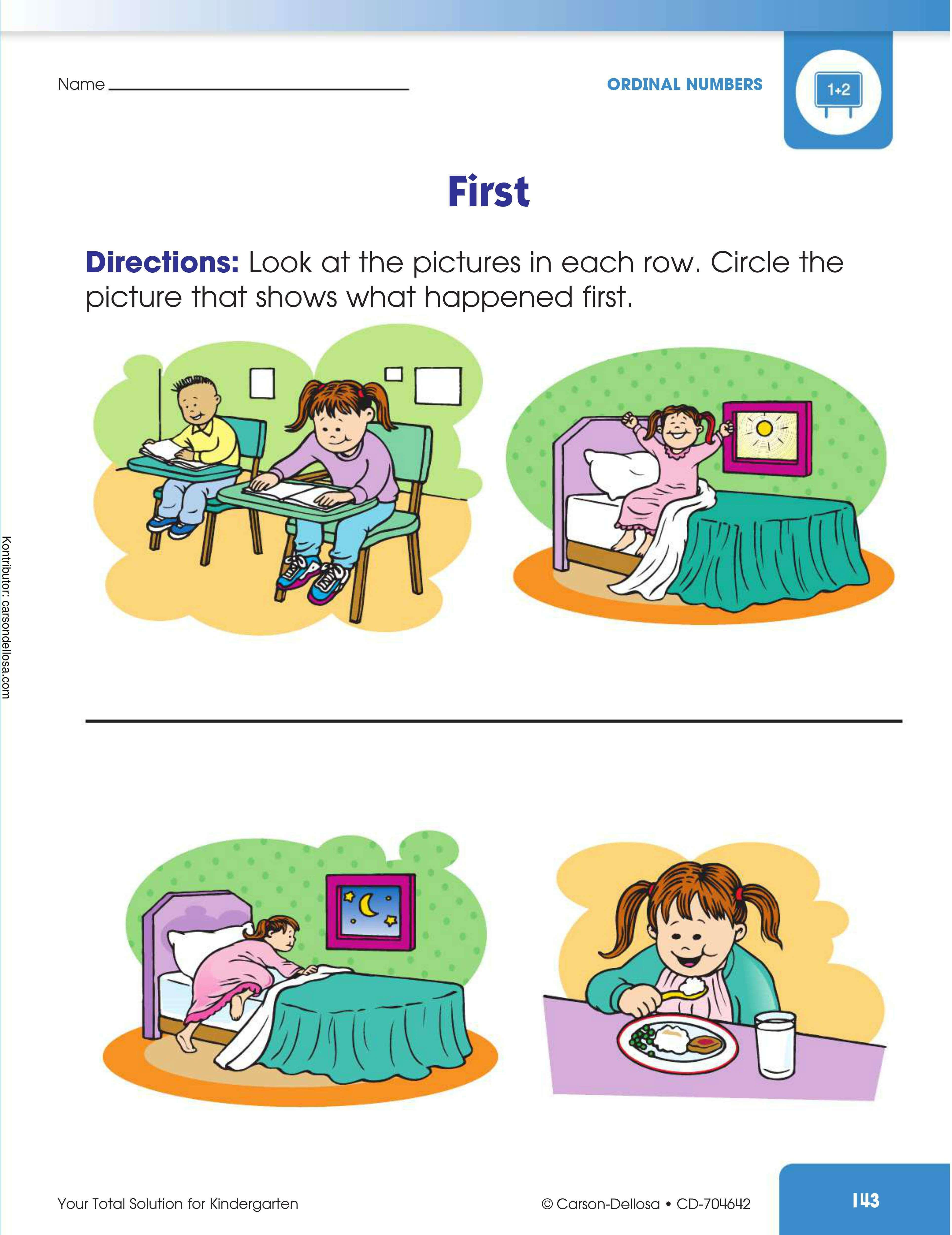 Belajar Melingkari Gambar yang Pertama