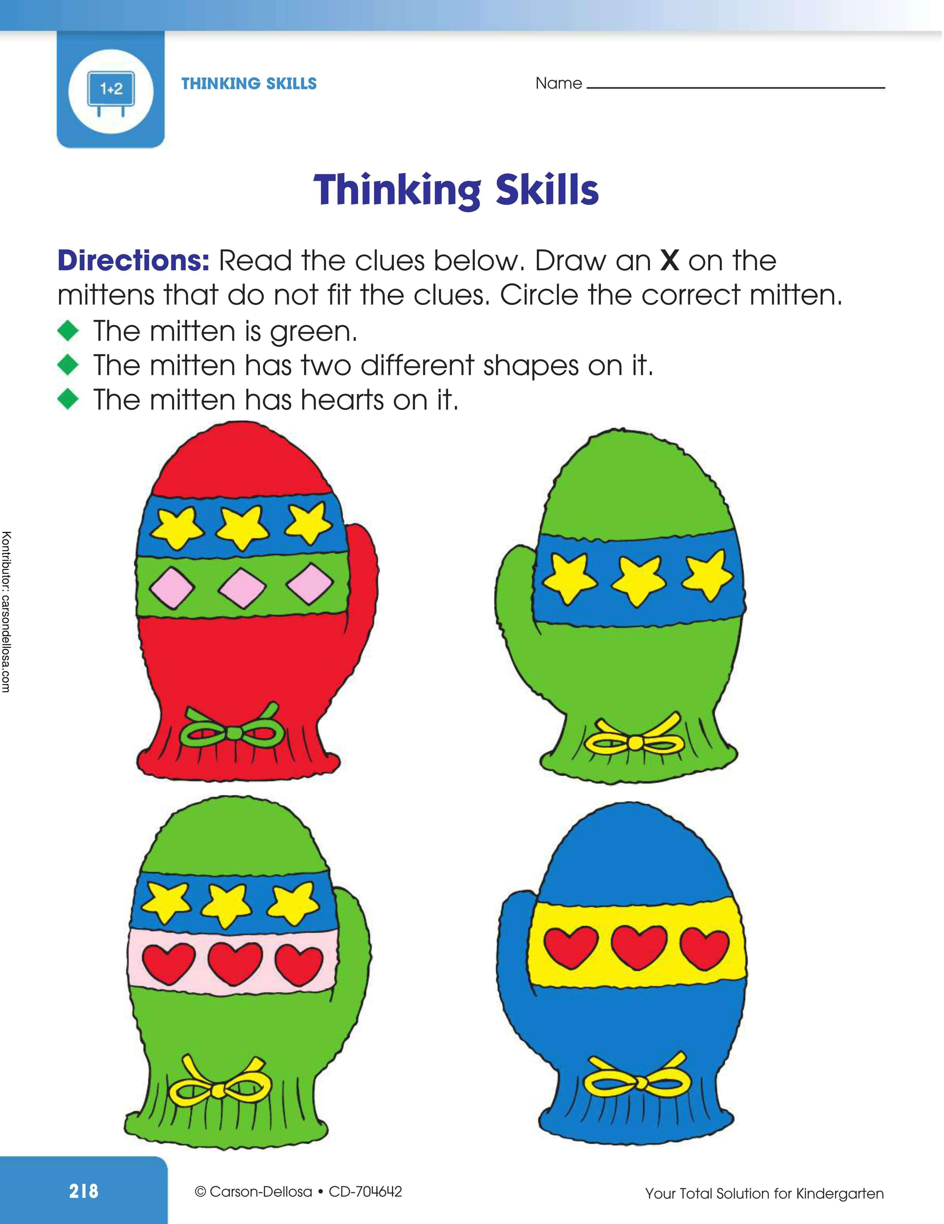 Melatih Kemampuan Berpikir (4)