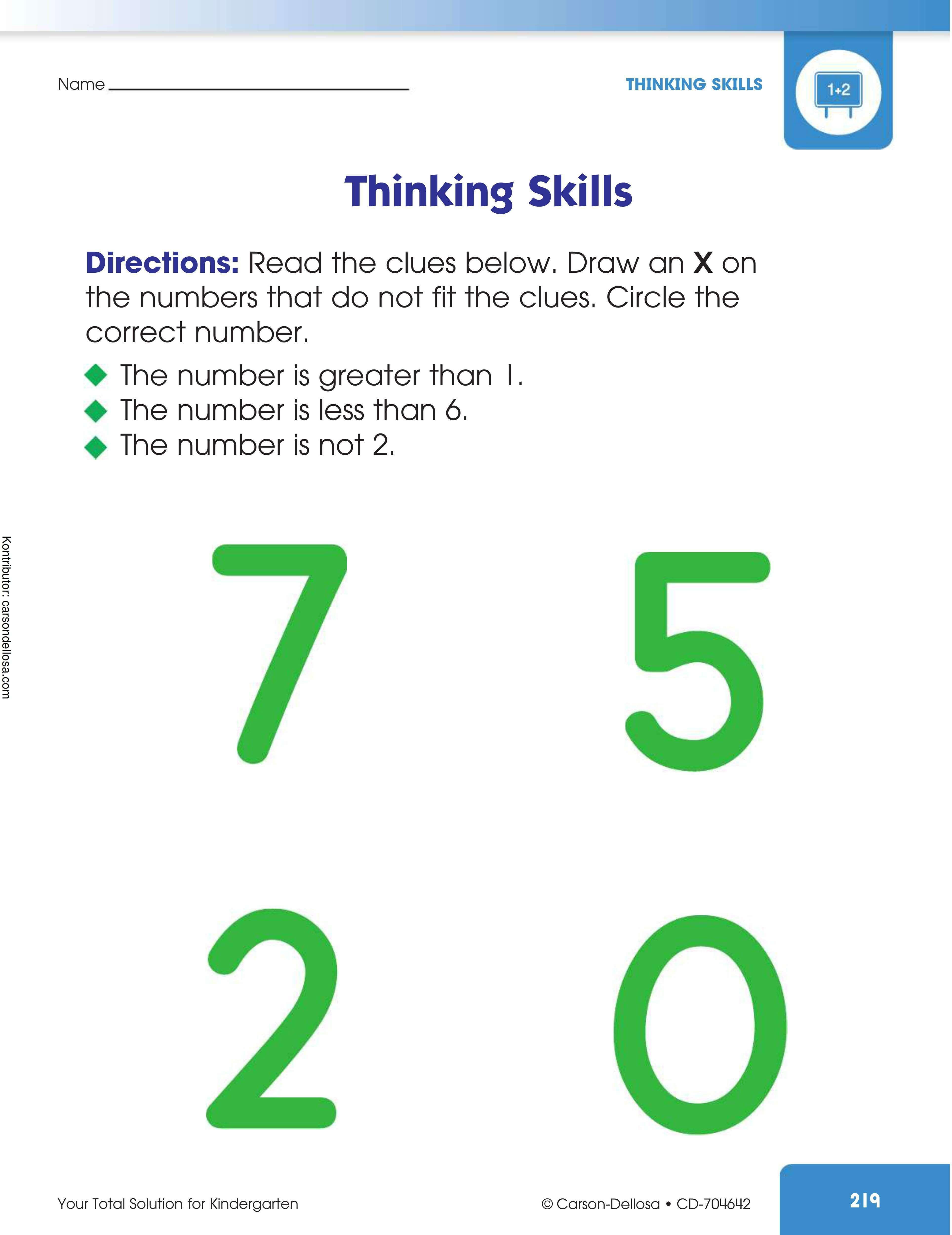Melatih Kemampuan Berpikir (5)