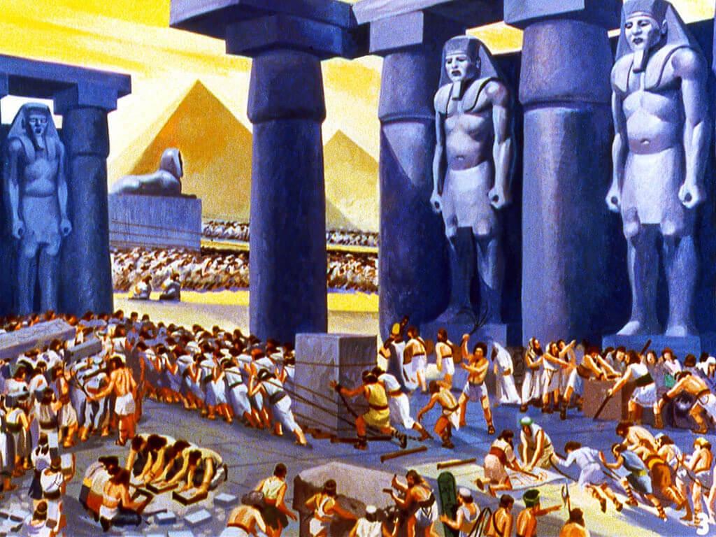 Firaun Suka Memperbudak Rakyatnya