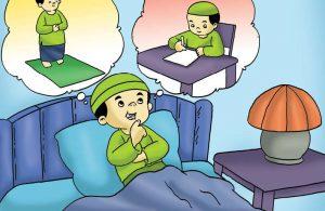 Gambar (5) Sebelum Tidur Harus Memperbanyak doa dan Zikir